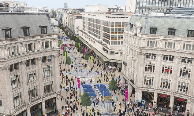 Plans to transform the Oxford Street District into a world class public space progress after strong support